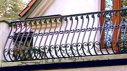 Balustrady balkonowe metalowe