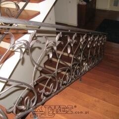 balustrady-schodowa-wewnetrzna-metalowa-kuta-b146b