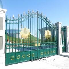 brama kuta orientalna wjazdowa