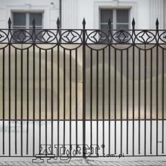 bramy wjazdowe ogrodzeniowe dwuskrzydłowa