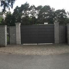 brama wjazdowa pełne kowalstwo