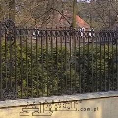 ogrodzenia kute płoty