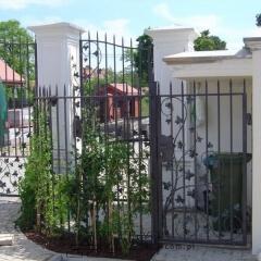 ogrodzenia kute śmietka furtka brama