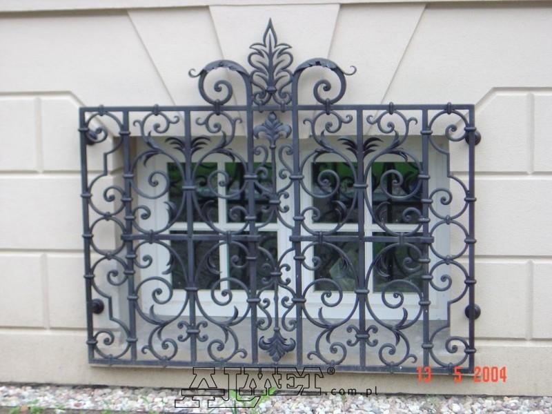 Inteligentny Kraty kute, okienne, do okien, drzwi, metalowe, drzwiowe FT63
